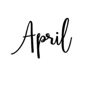 April large